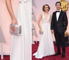 joanna newsom wedding dress the many bags of the 2015 academy awards carpet purseblog