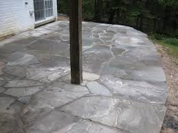 Irregular Stone Patio Landscape Photo Gallery
