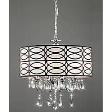 Crystal And Chrome Chandelier Comfortable Crystal Shade Chandelier With Additional Home