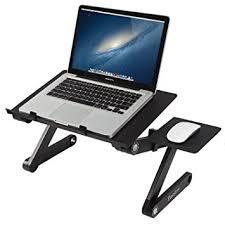 Laptop Holder For Desk Readaeer Portable Adjustable Laptop Computer Desk