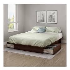 Wooden Platform Bed Frame Full Queen Size Royal Cherry Wooden Platform Bed Frame Under Bed