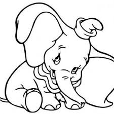 dumbo elephant flying timothy coloring pages bulk