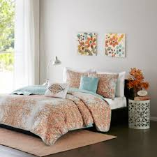 Twin Xl Quilts Coverlets Buy Orange Twin Xl Comforter From Bed Bath U0026 Beyond