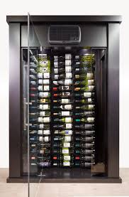 Bar Cabinet With Wine Cooler Freestanding Wine Cooler Cabinet With Pinot Tresanti Built In