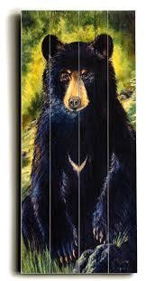 wall ideas black bear metal wall art teddy bear wall art nursery