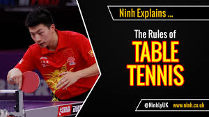 10 rules of table tennis the rules of table tennis ping pong explained youtube