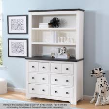 delta children providence bookcase hutch white and textured