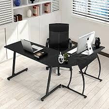 Office Desk Uk Coavas Office Desk L Shaped Corner Desk Large Pc Gaming Desk