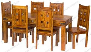 Jali Dining Table And Chairs Wood Furniture Biz Products Furniture Supplies Uk