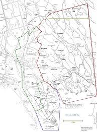 New Brunswick Canada Map Detailed by Villages U0026 Geography Saint Patrick Parish N B