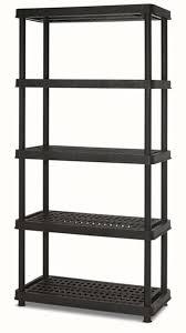keter 18 5 tier shelf unit
