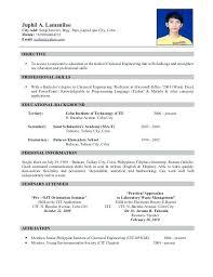 Sample Resume Call Center Fresh Graduate Resume Fresh Graduate Resume How To Write A Better