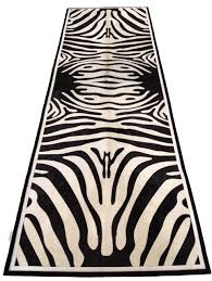 Zebra Runner Rug Fancy Zebra Runner Rug Zebra Print Carpet Runner Carpet Awsa Zebra