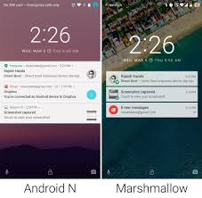 android lock screen notifications on with android n increased customization better