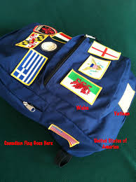 Uniform Flag Patch A History Of Our Adventures For All To See Nokidswilltravel