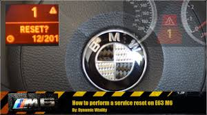 how to reset bmw service light for brake fluid oil change etc