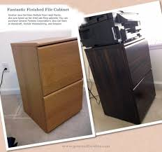 General Finishes Gel Stain Kitchen Cabinets by Filing Cabinet Revival With General Finishes Java Gel Stain