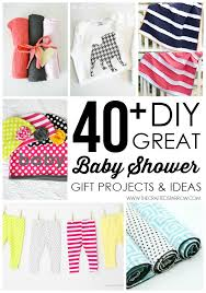 great baby shower gifts 40 diy baby shower gift ideas