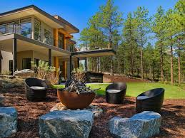 floating fire pit outdoor fire pit seating ideas that blend looks and function in