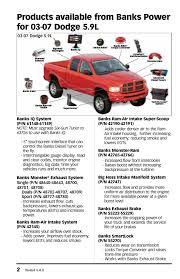 banks power dodge trucks diesel u002703 07 5 9l cummins tuner