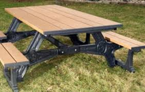 recycled plastic picnic tables outdoor furniture
