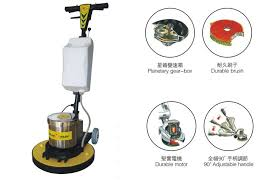 electric single disc floor cleaning machines floor scrubber for
