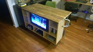 Gaming Desks by Custom Desk Gaming Corner With A Difficult Floor Plan Album On
