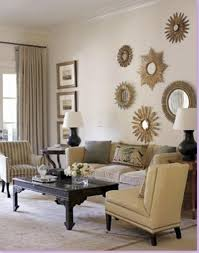 beautiful living room wall decor have decorative oval wall mirror