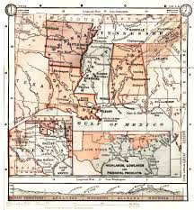 Central United States Map by Alabama Maps Alabama Digital Map Library Table Of Contents