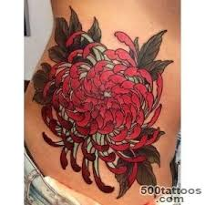 chrysanthemum tattoo designs ideas meanings images