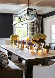 harvest dining room table a large harvest table is a bold focal point in this formal dining