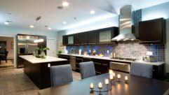 beige glass tile kitchen backsplash black painted wooden kitchen