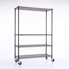 Commercial Wire Shelving by Black Wire Shelving Ebay