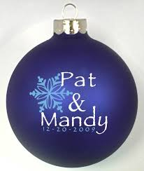 personalized wedding christmas ornaments christmas wedding favors idea and planning