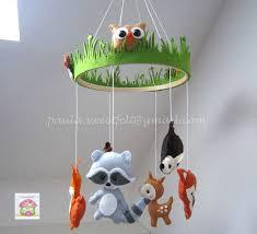 bricolage chambre bébé bricolage chambre bebe mobile animaux de la forat pour bacbac jeux