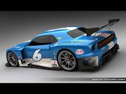 dodge supercar concept 2009 dodge challenger le mans concept by bo zolland rear and