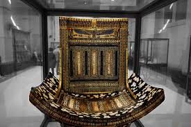 a chair from king tut s picture of antiquities