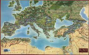 Rome On World Map Ramblings On Total War Rome Ii U2013 J W Carey