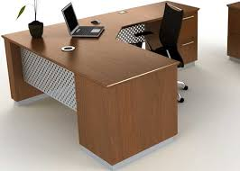 Modern L Shape Desk Modern L Shaped Executive Desk With Metal Wood Officepope