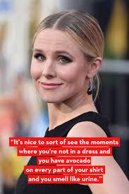 Kristen Bell by Kristen Bell U0027s Funniest Quotes About Motherhood Kristen Bell