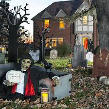 Pictures Of Halloween Outdoor Decorations by Haunted Outdoor Halloween Decorations