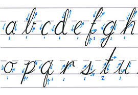 how write cursive handwriting mastering calligraphy how to write in cursive script