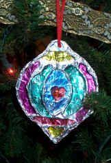 tin foil stained glass ornaments lots of other great