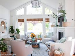 seasonal simplicity fall living room tour the happy housie