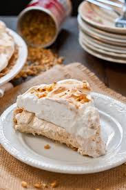no bake peanut butter meringue pie neighborfood