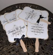 wedding program on a fan wedding programs on fans exles search wedding ideas