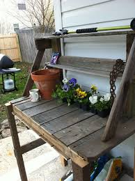 Wooden Potting Benches 65 Diy Potting Bench Plans Completely Free