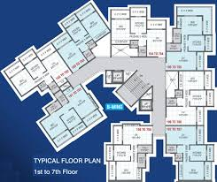 Gurdwara Floor Plan by 658 Sq Ft 1 Bhk 2t Apartment For Sale In Aashray Group Pearl