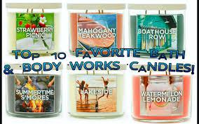bath body works black friday 2017 top 10 favorite bath u0026 body works candles of all time youtube