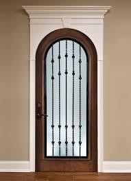 custom solid wood interior doors by glenview doors wine cellar